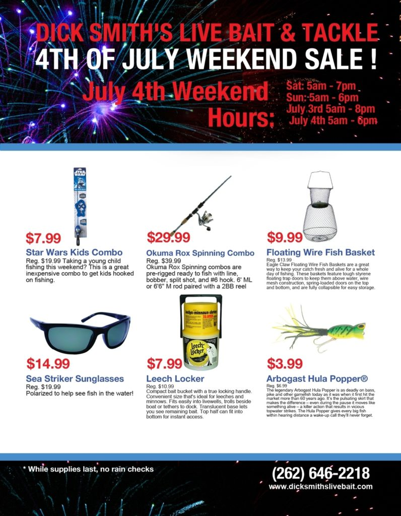 e6c6c07dbad Fireworks Flyer(201763063712499) - Dick Smith s Live Bait   Tackle