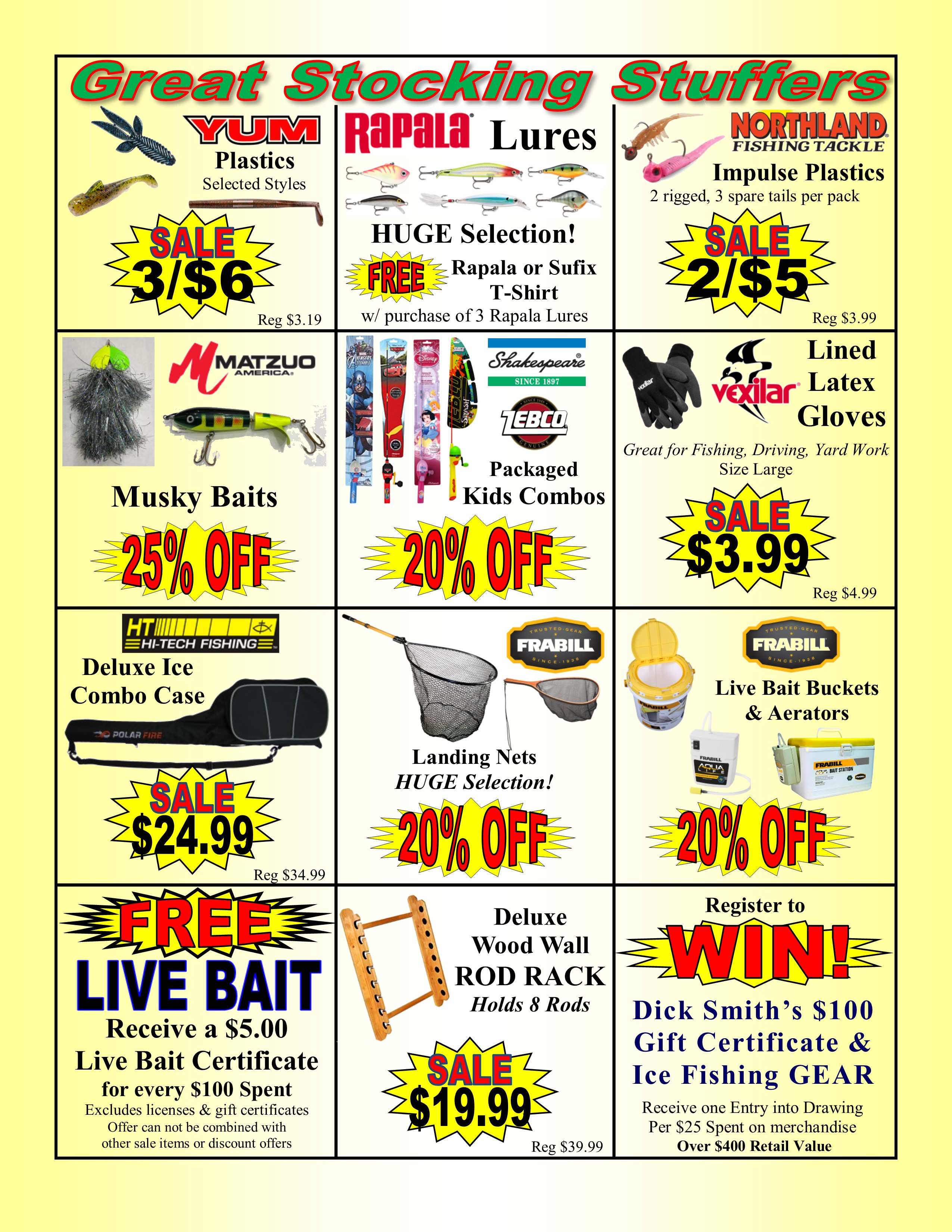 82757d4b498 Thanksgiving 18 2 - Dick Smith s Live Bait   Tackle
